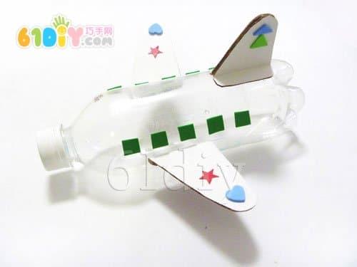 Beverage bottle aircraft practice