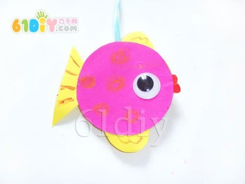 Handmade small fish with lid