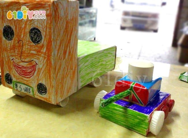 Carton tanks and trucks