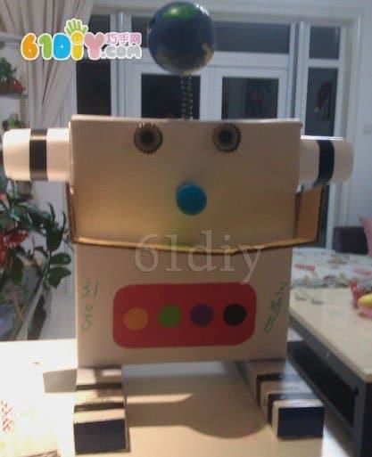 Carton robot works