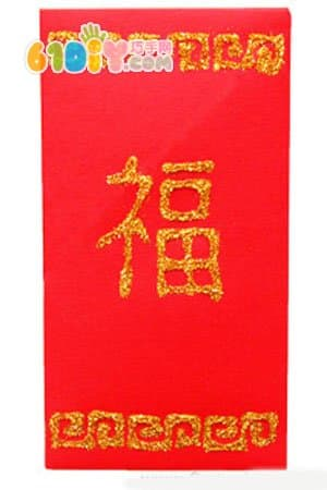 How to make a New Year red envelope by hand