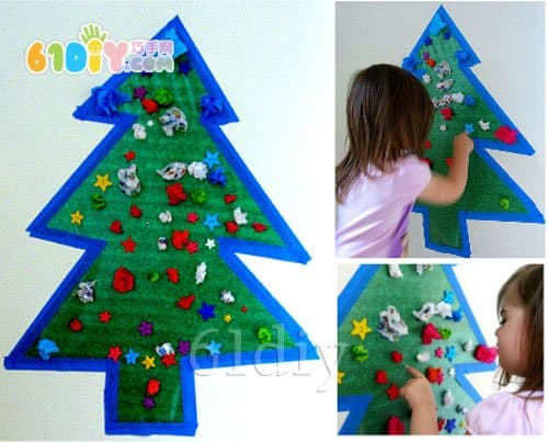 Simple Christmas tree handmade