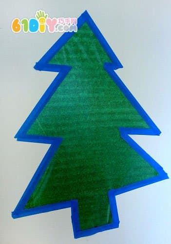 Simple Christmas tree handmade
