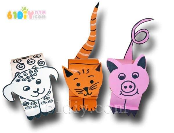 Three-dimensional animal handmade