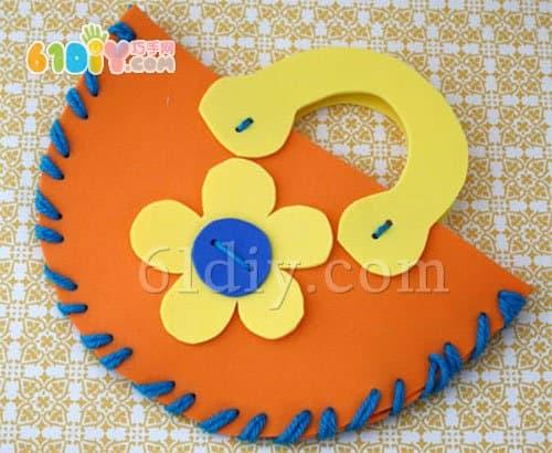 Kindergarten 38th Handmade Sponge Paper Tote