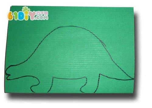 Kindergarten manual: dinosaur DIY