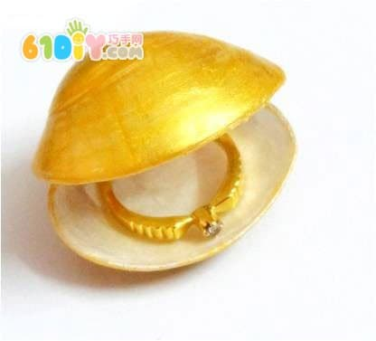 Shell DIY making jewelry box
