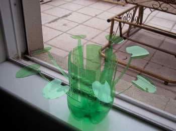 Waste Renovation: Sprite Bottle Vase