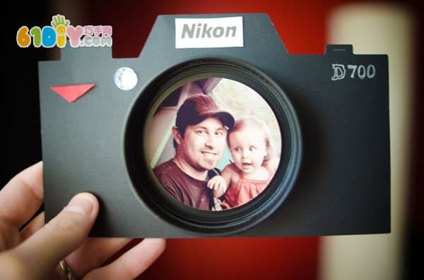 Father's Day Personality Photo Frame DIY Production