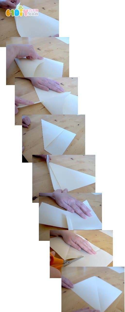 How to fold southeast and northwest