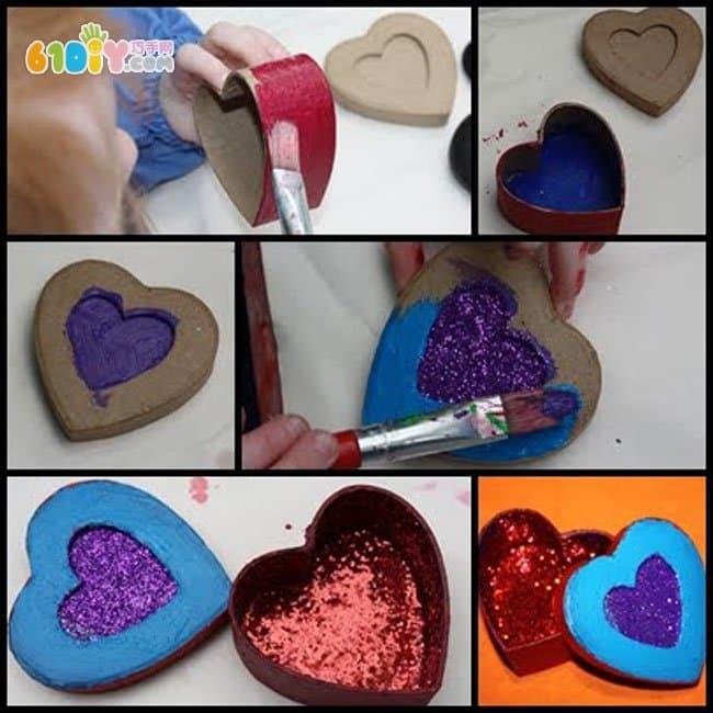 Love box DIY production