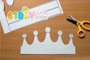 Sponge paper handmade crown