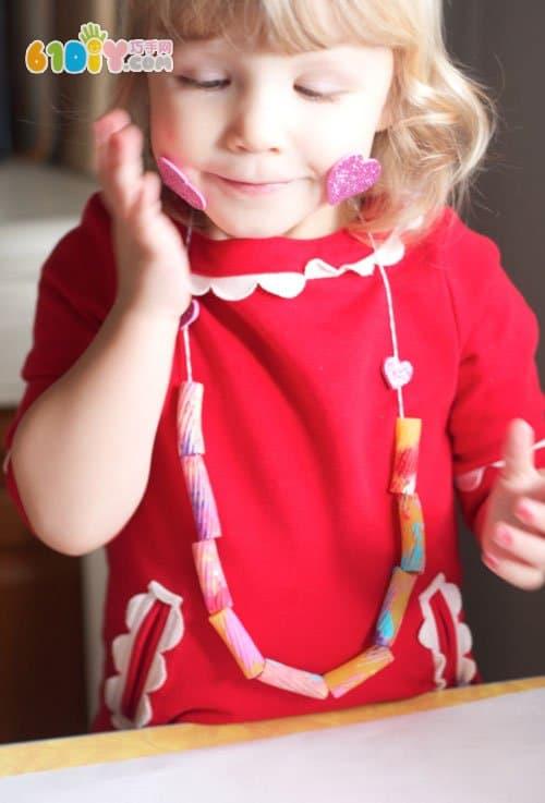 Teacher's Day handmade gift - beautiful necklace