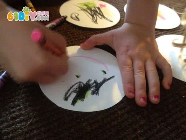 Round handmade DIY food