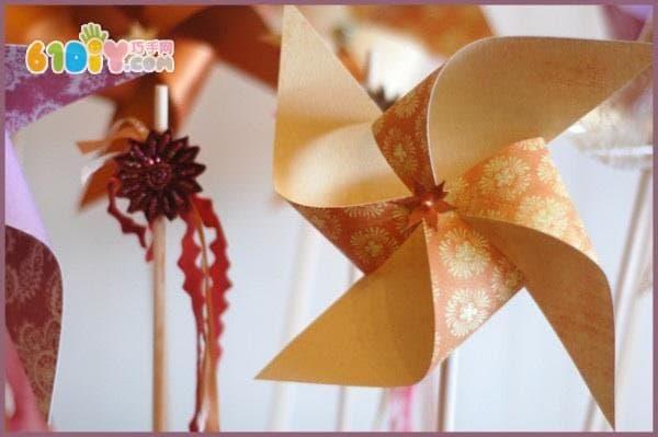 Paper Windmill Making Tutorial