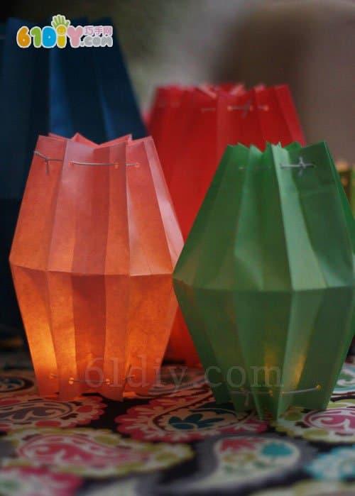 Children's handmade DIY Mid-Autumn Festival Lantern