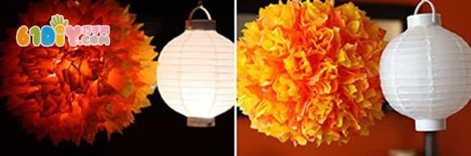 Mid-Autumn Festival Lantern Embryo DIY Production