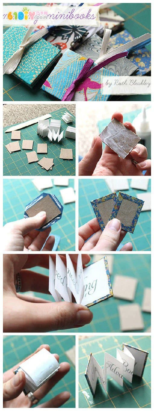 Multi-page card production