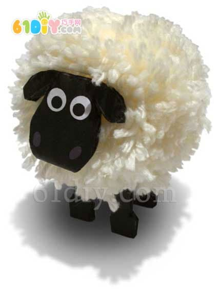 Kawaii's hairball lamb DIY production