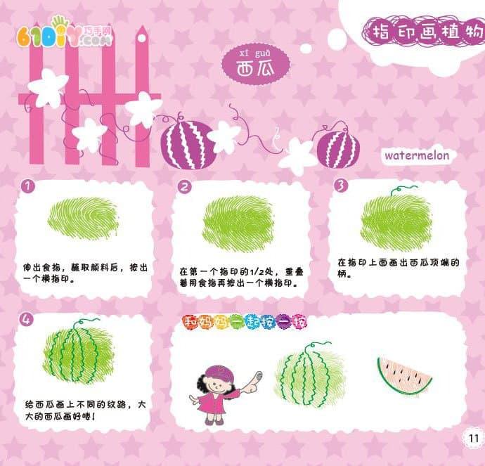 Watermelon fingerprint