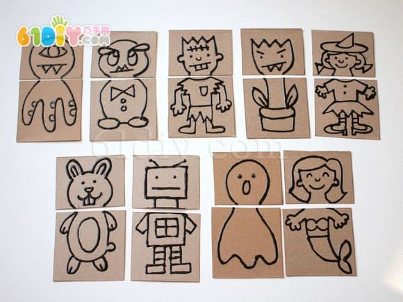 Handmade creative and interesting dressing toys
