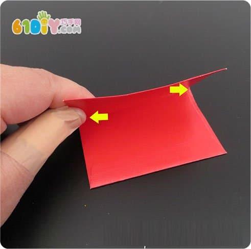 10 red envelopes making stars