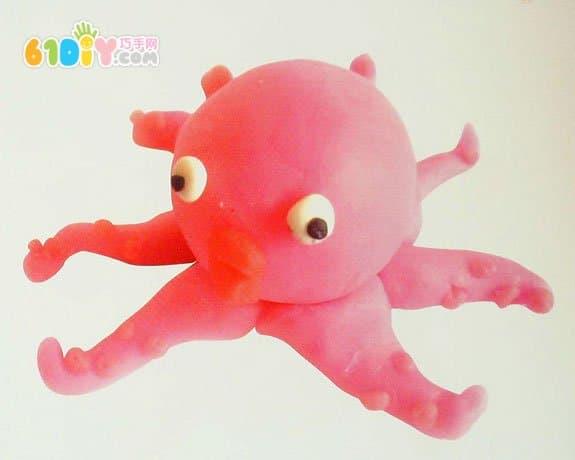 Octopus Clay Tutorial