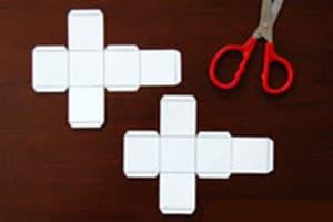 Paper tweezers DIY production