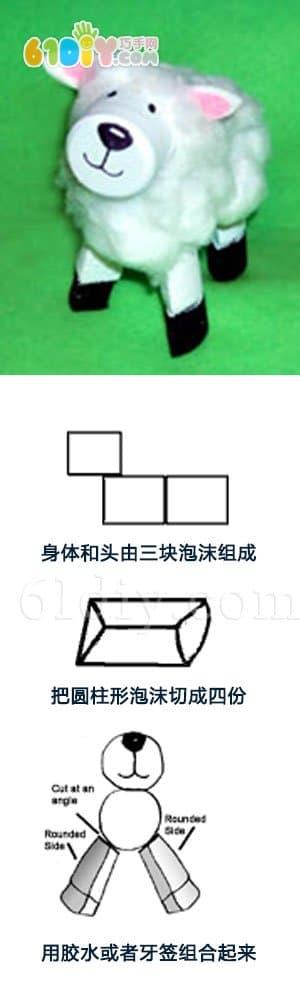 Children's DIY Stereo Sheep