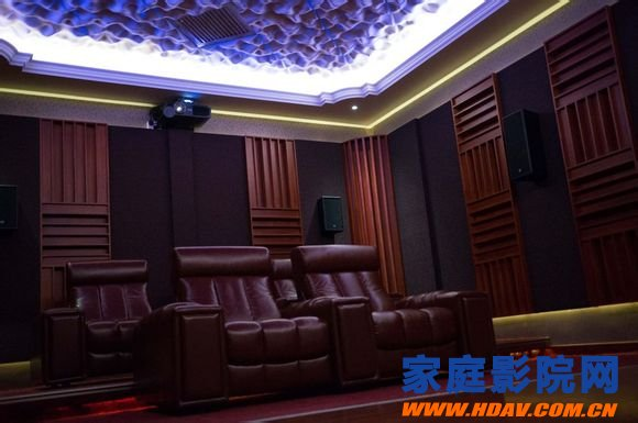 Three-point equipment, seven points environment, home theater decoration, acoustic treatment, actual combat