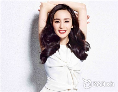 Yang Mi whitening will kill - only facial whitening is not enough!