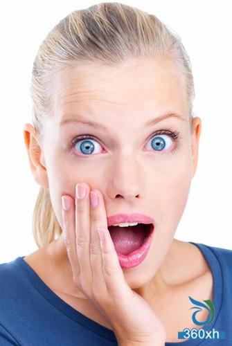 Checking the habit of making facial skin worse