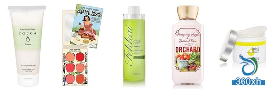 Ten apple skin care products recommended to care for the skin