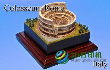 Show the charm of humanity, want to 3D printing famous landmarks