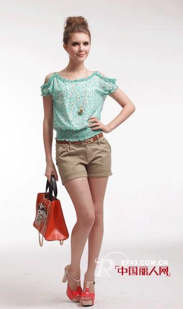 城市衣柜时尚女装 清新绿色唤醒初夏