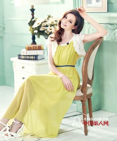 今年夏天流行什么颜色连衣裙 黄色连衣裙搭配
