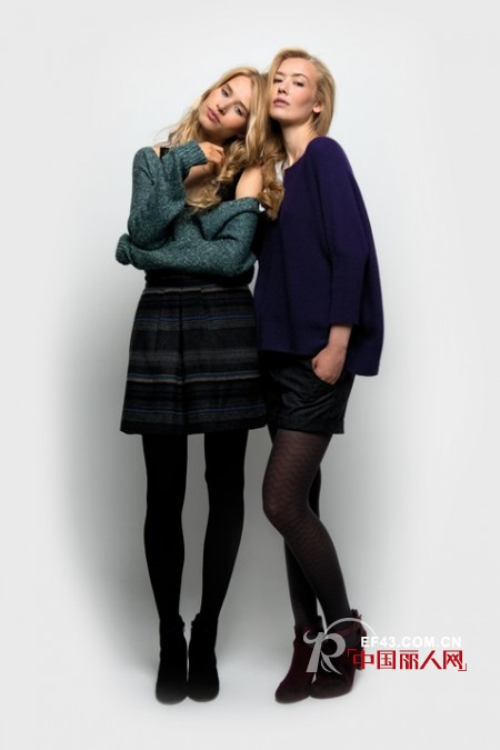 法国时装品牌NAF·NAF(娜芙·娜芙)2012冬季大片欣赏