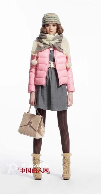 ISLIU女装2012冬季新款 潮流演绎冰淇淋色系