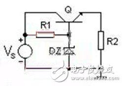 Linear regulator schematic