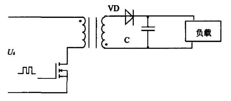 Figure 1: Single-ended flyback converter