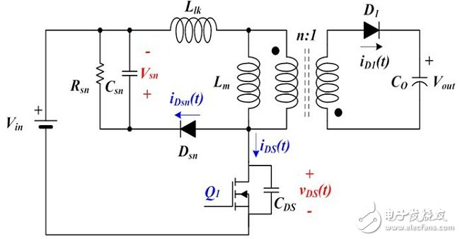 Traditional flyback converter