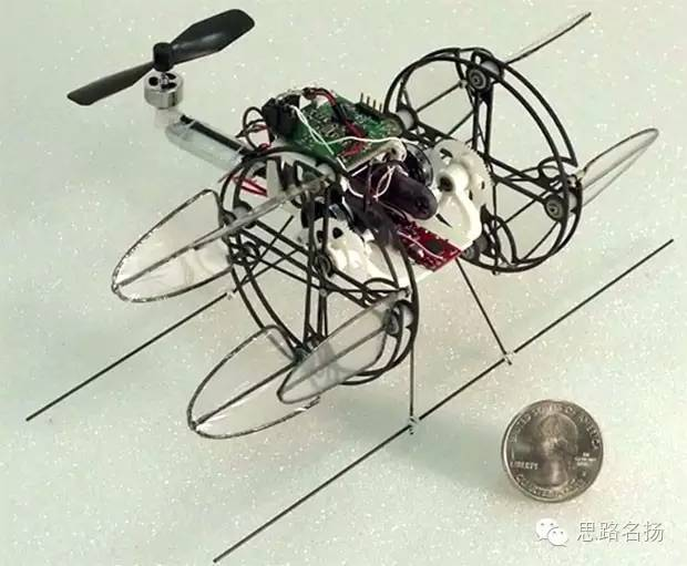 Can the propeller of the drone do the same?