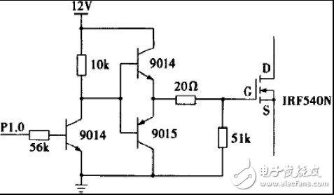 Totem pole drive circuit