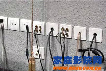 Home theater wiring summary of various common problems