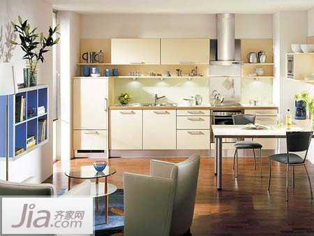 8款国外厨房设计样板图 简洁时尚惹人喜爱(图)