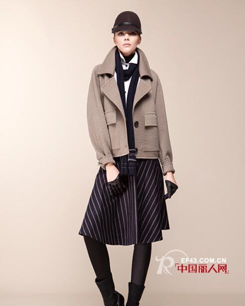 MYSCISSORS希色女装为你推荐:2014秋季新装--大气英伦风