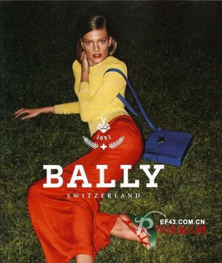 法国超模Constance Jablonski拍摄BALLY 巴利 2011春夏广告大片