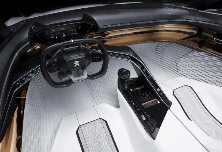 标致新版敞篷跑车内饰将使用3D打印技术制作