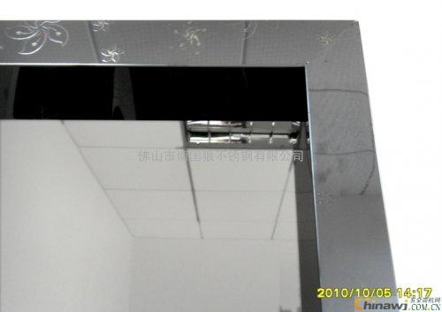 'Stainless steel door cover