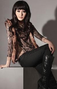 韩国混搭方式 加米澳GAMIO品牌女装2011新品系列